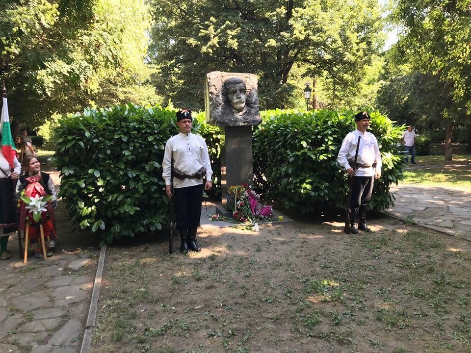 170 години от рождението на Иван Вазов честваха в Дондуковата градина