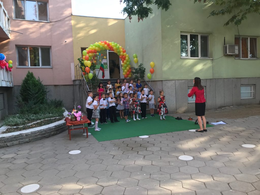 Георги Стаменов откри учебната година в ДГ Малкият принц