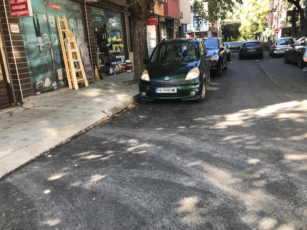 Приключи ремонтът на трите тупика на бул. Христо Ботев