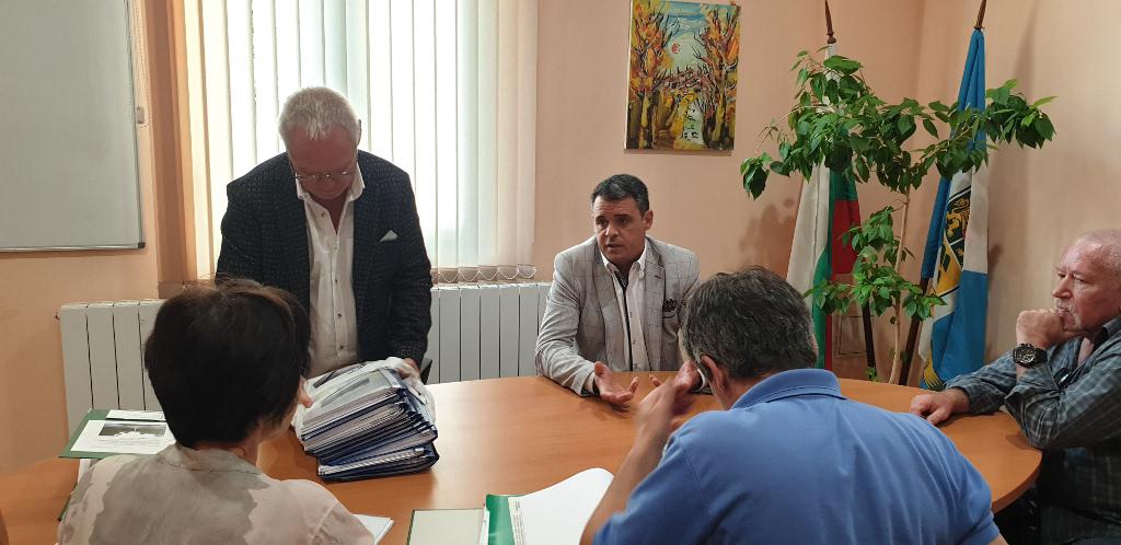 Работна среща реконструкция Дондуковата градина