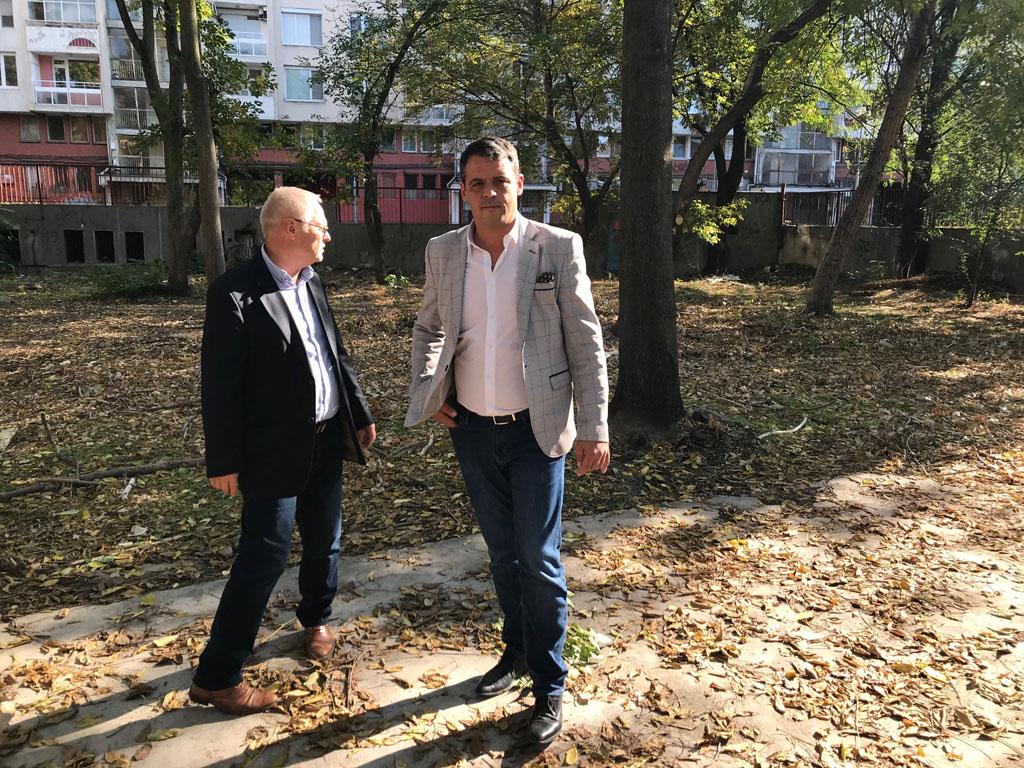 Нов паркинг в центъра на Пловдив