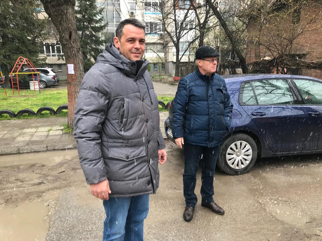 Нов паркинг на ул. Добри Войников