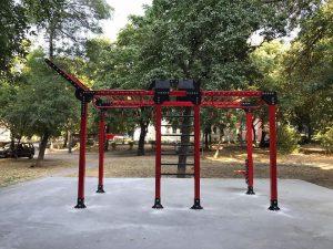 """Нови 4 фитнеса на открито са изградени в район """"Централен"""""""