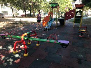 """Две нови детски площадки функционират в район """"Централен"""""""