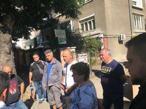 """Район """"Централен"""" и БТК реконструират 3500 кв. м. тротоари"""