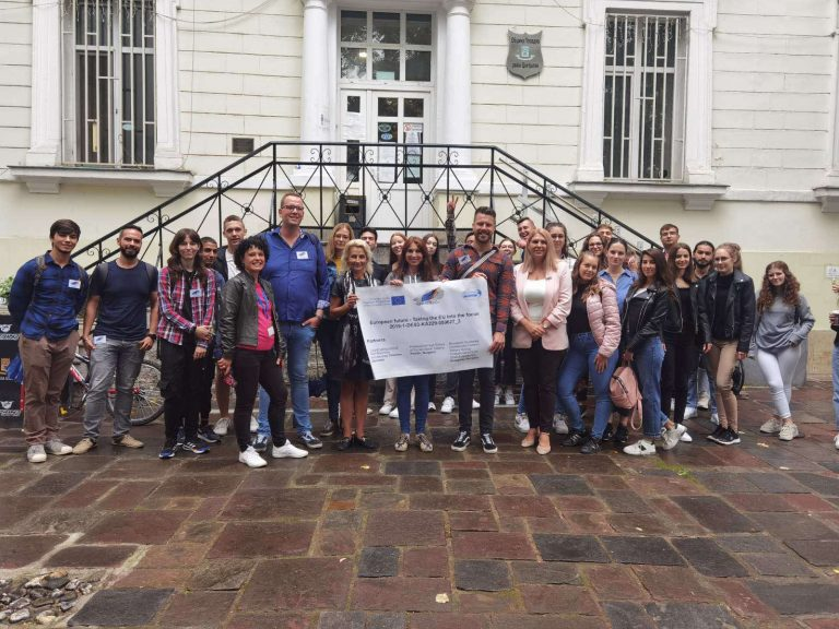 """Ученици и преподаватели от Кьолн и Будапеща гостуваха на район """"Централен"""""""